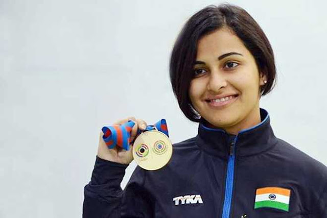 CWG 2018: Heena Sidhu Clinches Gold In Women's 25-Metre Pistol, Smashes Games Record