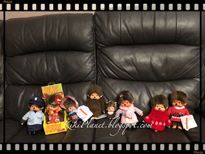kiki monchhichi new york manhattan kiki le vrai vintage jouet collection