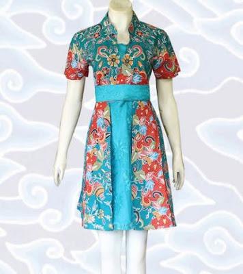 model dress batik trendy