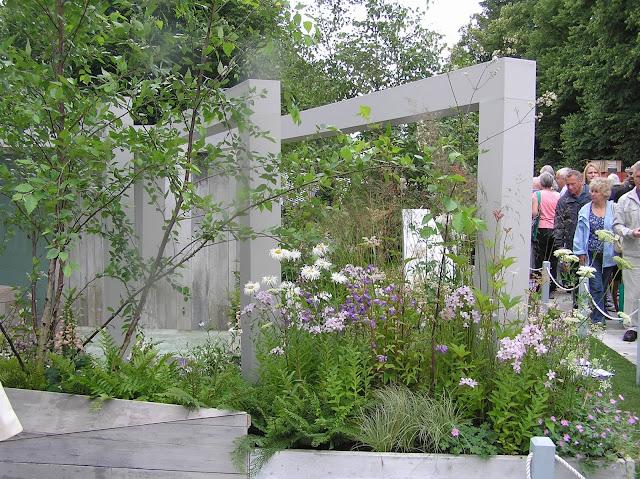 ogród pokazowy, architektura ogrodowa