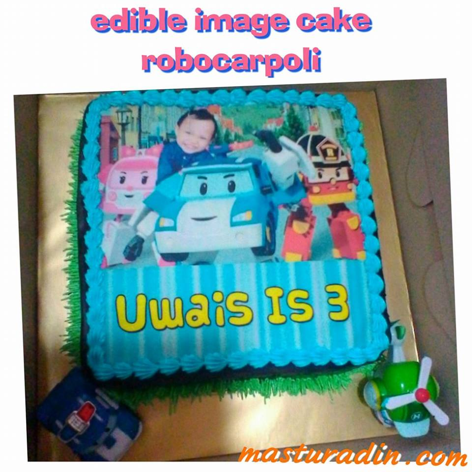 tema robocarpoli, birthday party, sambutan hari lahir, theme, kos, edible cake