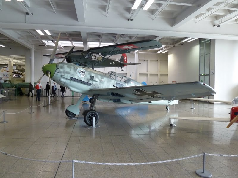 Bf 109 E 3 at the Deutsches Museum in Munich