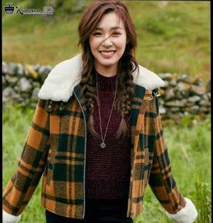 Foto Tiffany SNSD cantik memakai jaket