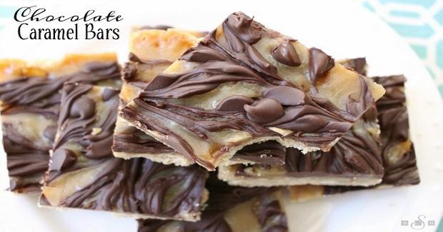 Chocolate Caramel Bars Recipe