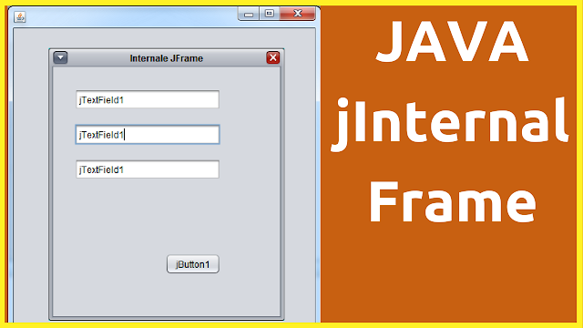 Use JInternalFrame In Java