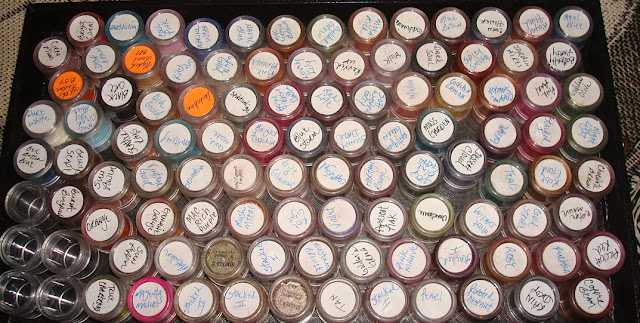 My Mac Pigment Stash
