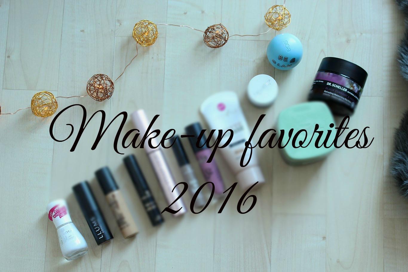 Make-up favorites 2016