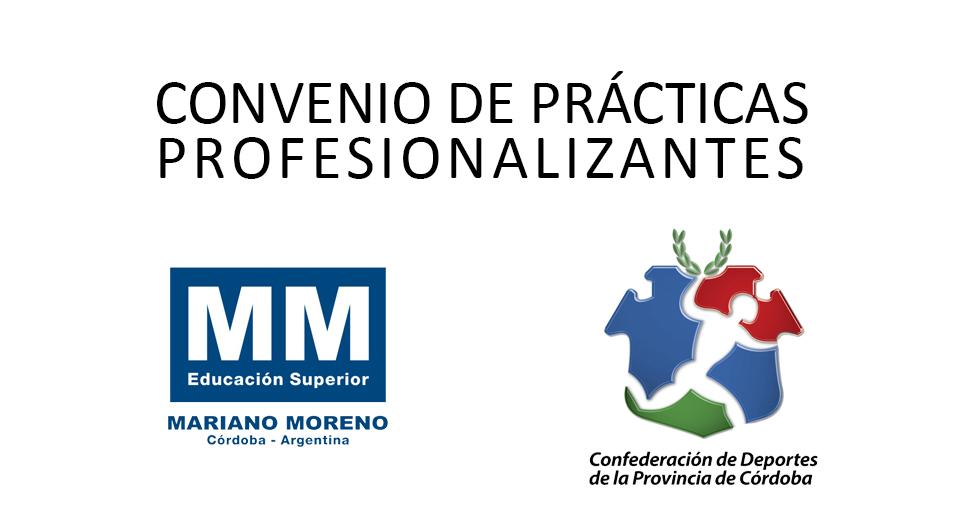 c3c8c3f04 Comienza el ciclo 2016 de prácticas profesionalizantes de la Confederación  de Deportes en conjunto con el Instituto Superior Mariano Moreno, que  acogerá a ...