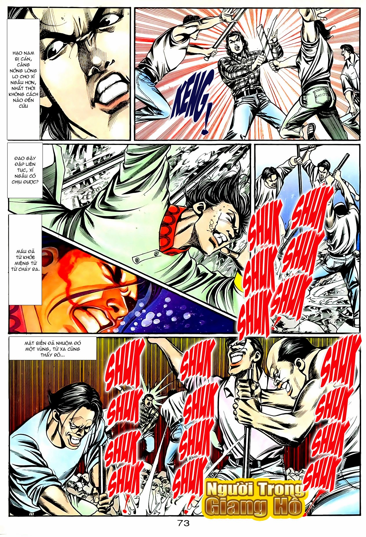 Người Trong Giang Hồ chapter 90: giang hồ hiểm trang 9
