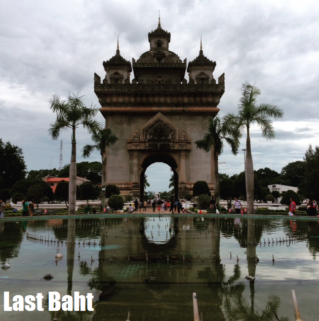 The laotian gates of victory