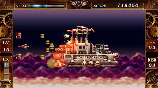 Review - STEEL EMPIRE - Remastered 1992 steampunk shooter!