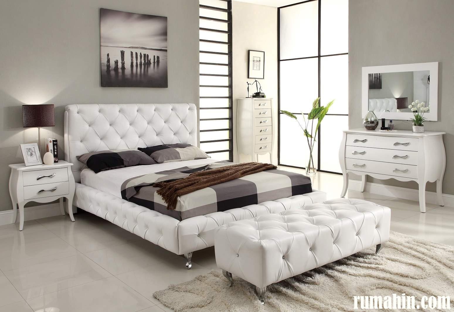 50 Desain Interior Kamar Tidur Minimalis Warna Cat Putih