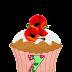 Abecedario en Cupcakes. Cupcakes with Alphabet.