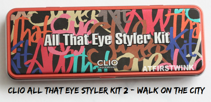 Review: Clio All That Eye Styler Kit 2 - Walk on the city