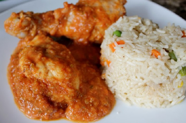 Easy and Yummy Butter chicken With Rice Recipe