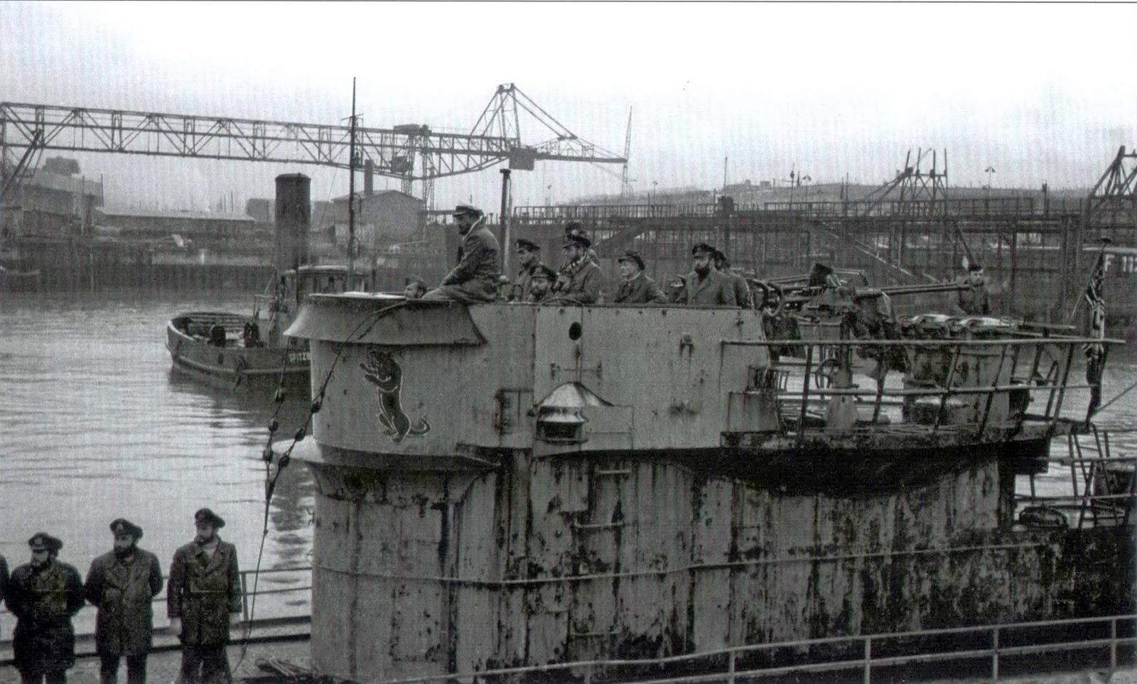World War II Pictures In Details: U-861 at Trondheim