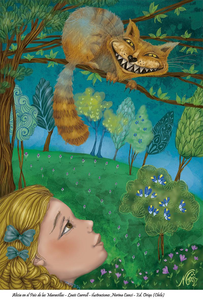 Nerina Canzi Ilustraciones ALICIA EN EL PA U00cdS DE LAS