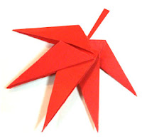 Maple Leaf Origami