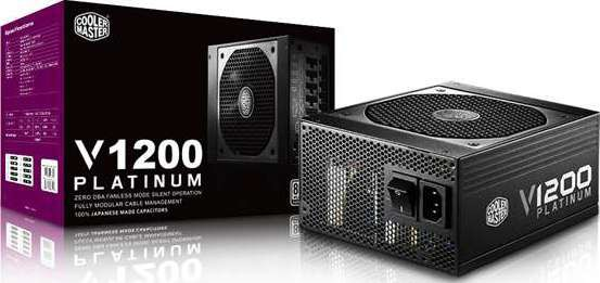 Cooler Master Full V1200 80 Plus Platinum Full Modular Power Supply