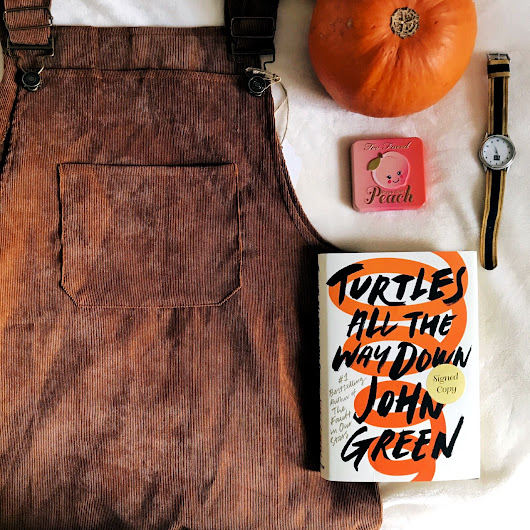 Turtles All The Way Down by John Green | Book Review | SimplyAllyTea