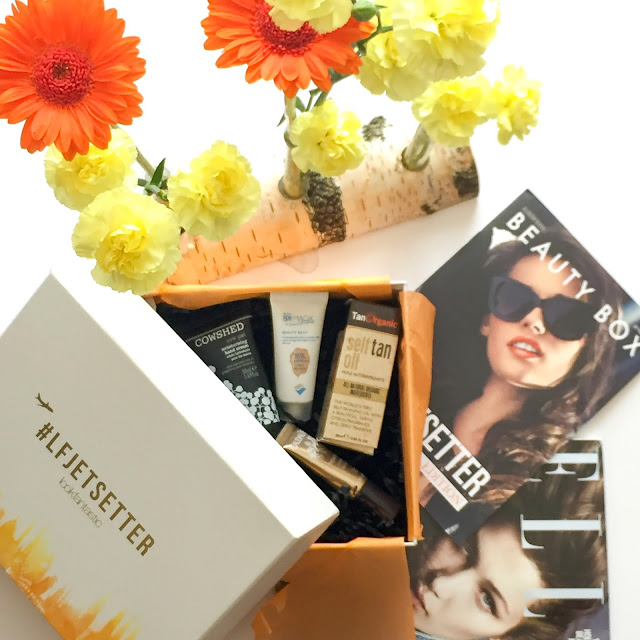 LookFantastic - Beauty Box (#LFJETSETTER - Juni 2016)