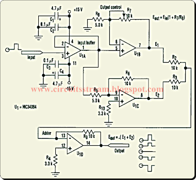 Stabilized Capacitance Buffer Circuit Diagram