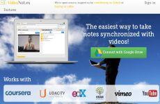 VideoNotes: herramienta para escribir notas y sincronizarlas con videos