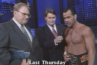WCW Great American Bash 1998 Review - Dean Malenko makes an announcement on Thunder