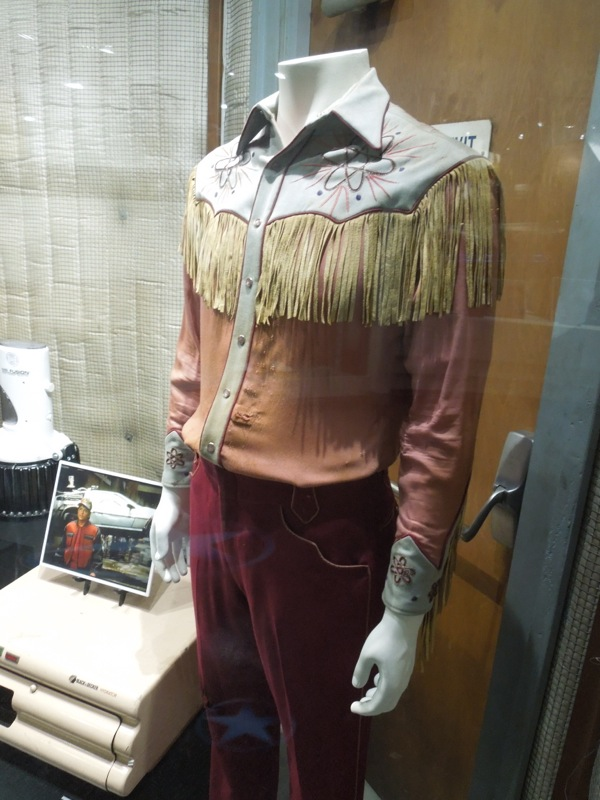 Back to the Future III Nuclear cowboy costume