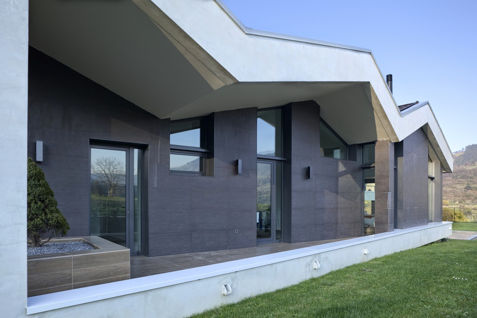 Casa vp pablo fern ndez fern ndez aib architecture obras - Arquitectos gijon ...