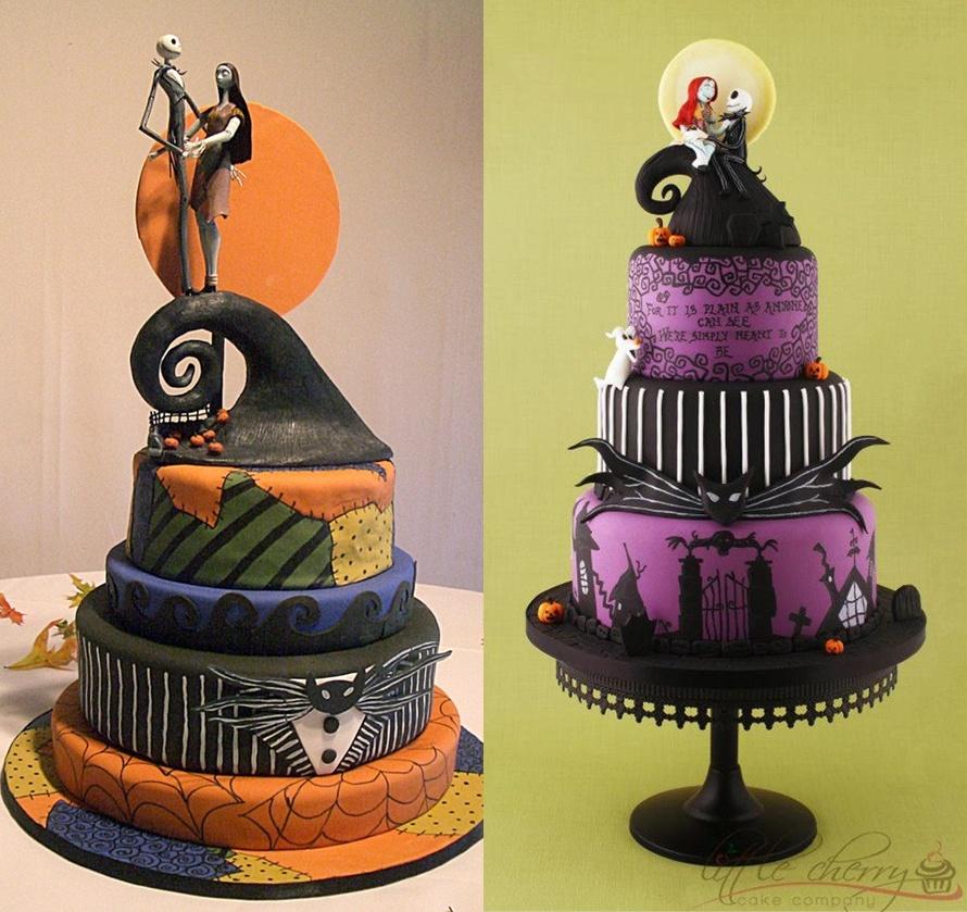 Tim Burton Cake Ideas