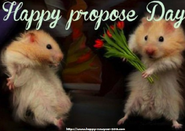 propose day wish by squirrel
