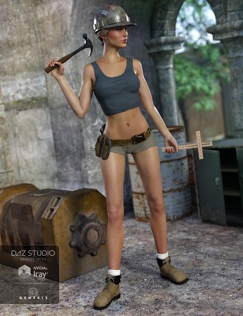Tool Girl Textures
