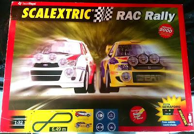 Circuitos: Scalextric RAC Rally Tecnitoys Versión 2000