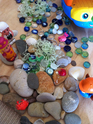 Making small worlds - we're off to the beach #youclevermonkey