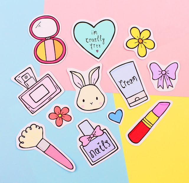 Cruelty Free Stickers Pastel Elixir