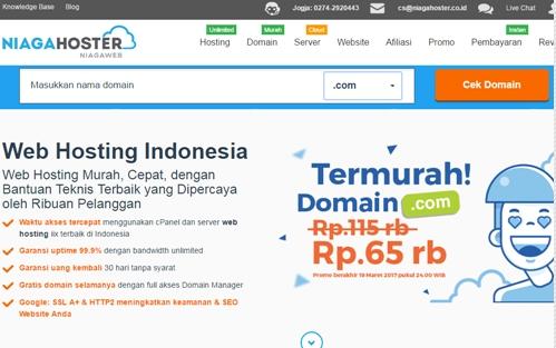 Cara Mudah Membeli Domain .com untuk Blog