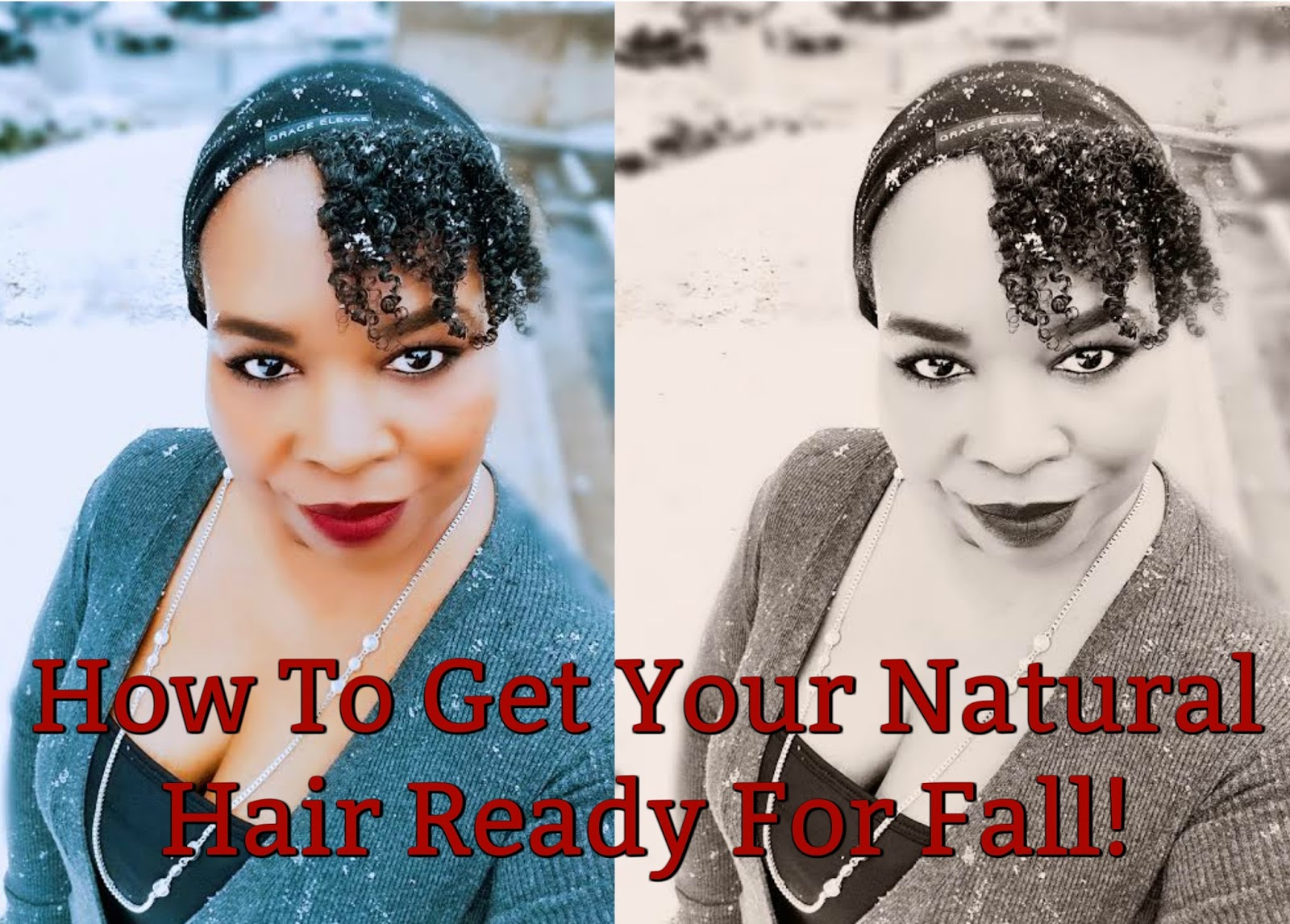 Women hair care includes getting hair ready for fall