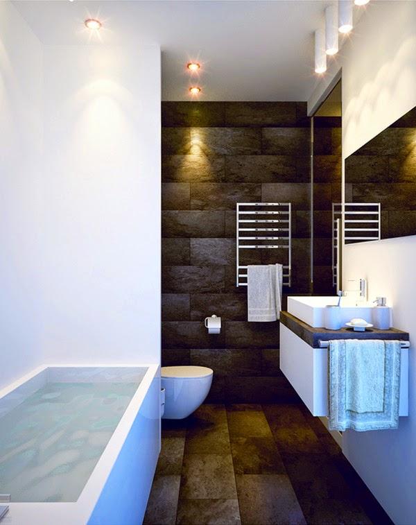 Dise o de cuarto de ba o peque o colores en casa - Diseno de cuartos de bano pequenos ...