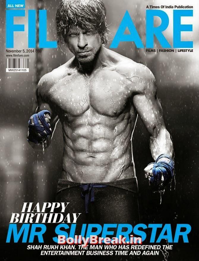 Shahrukh Khan, Bollywood Actors Hot & Sexy Pics on Magazine Covers