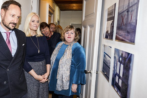 Crown Prince Haakon and Crown Princess Mette-Marit visited The Organisation for Families and Friends of Prisoners
