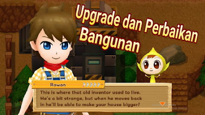 Cara Upgrade dan Perbaikan Bangunan di Harvest Moon Light of Hope