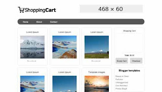 Shopping Cart - Template Blog Toko Online