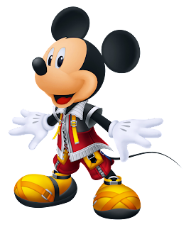 Mickey mouse principe de kingdom hearts