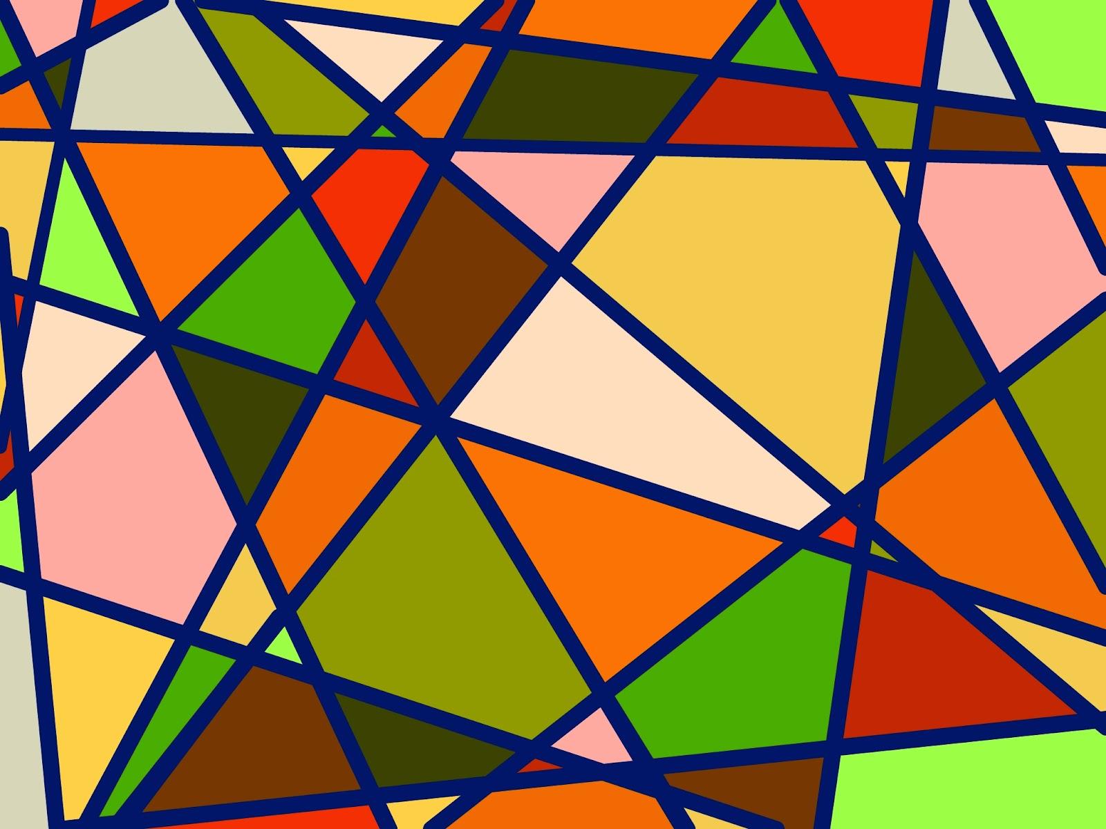 Muster Mosaik Herbstfarben