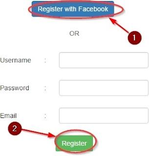 Apni Details Dalke Register pe Click Kare