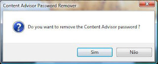 Content Advisor Password Remover