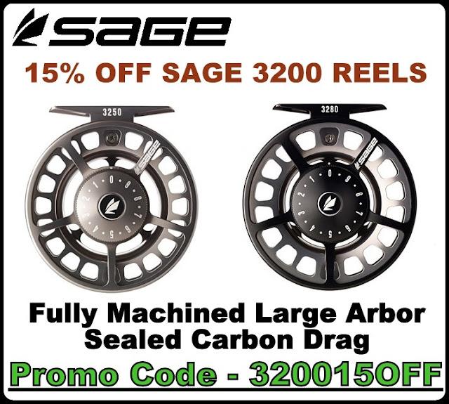Sage 3200 Fly Reels