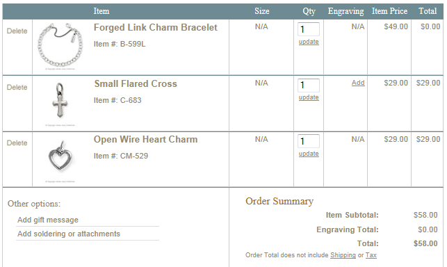 graphic relating to James Avery Printable Coupons called Calhoun Clip-n-Savers: No cost James Avery appeal bracelet wyb 2