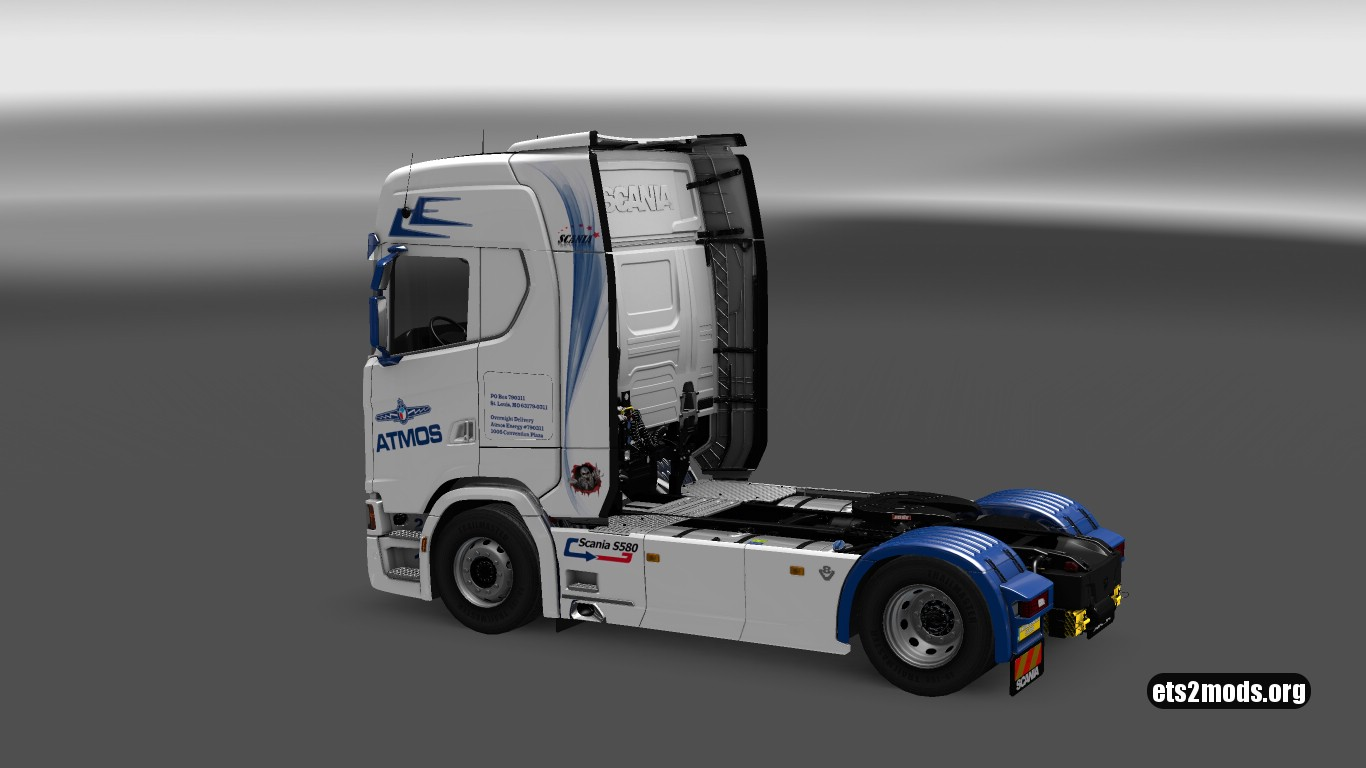 Atmos Skin for Scania S580